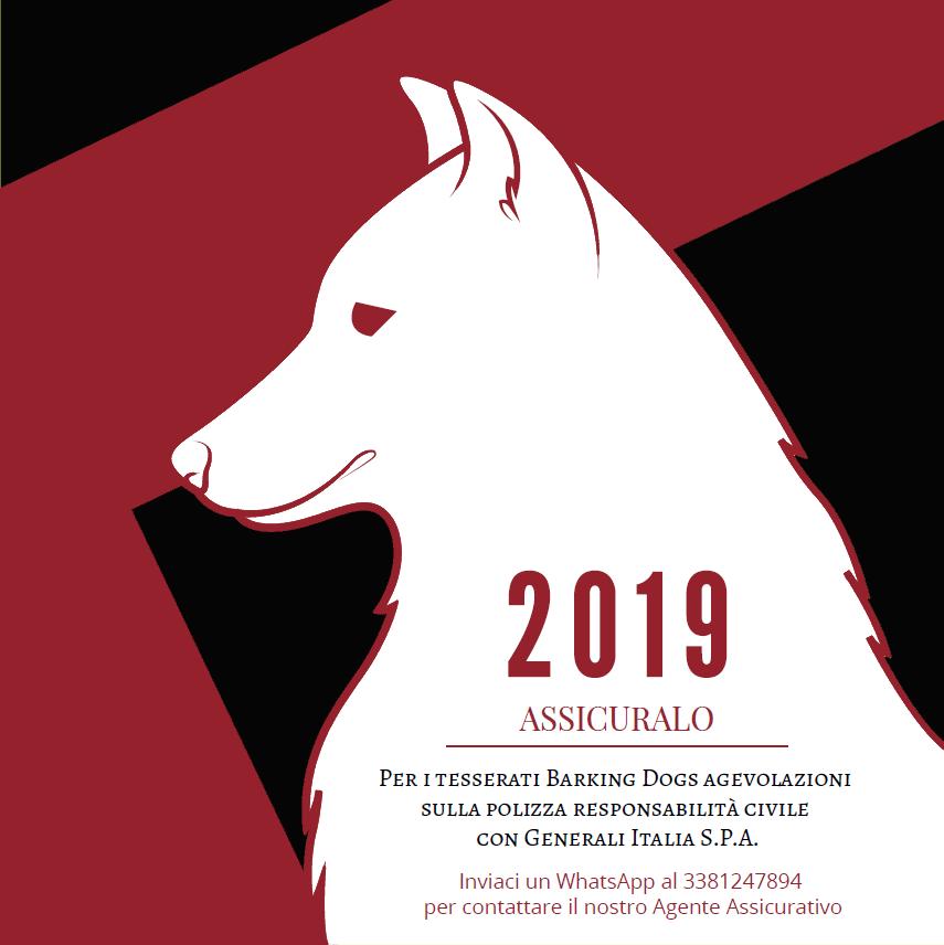 Agevolazioni tesserati Barking Dogs Centro Cinofilo Roma Sud 2019